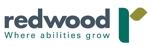 redwoord logo. where abilities grow